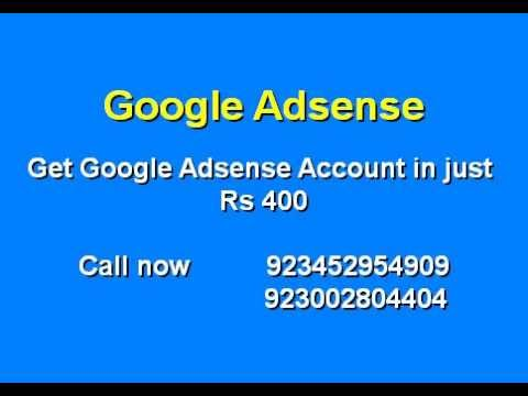 Google Adsense Account for Sale