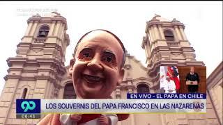 Gran acogida tienen los souvenirs del papa Francisco en Lima