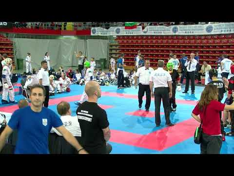 Hungary v Germany Older Cadet Team Event WAKO European Championships 2017