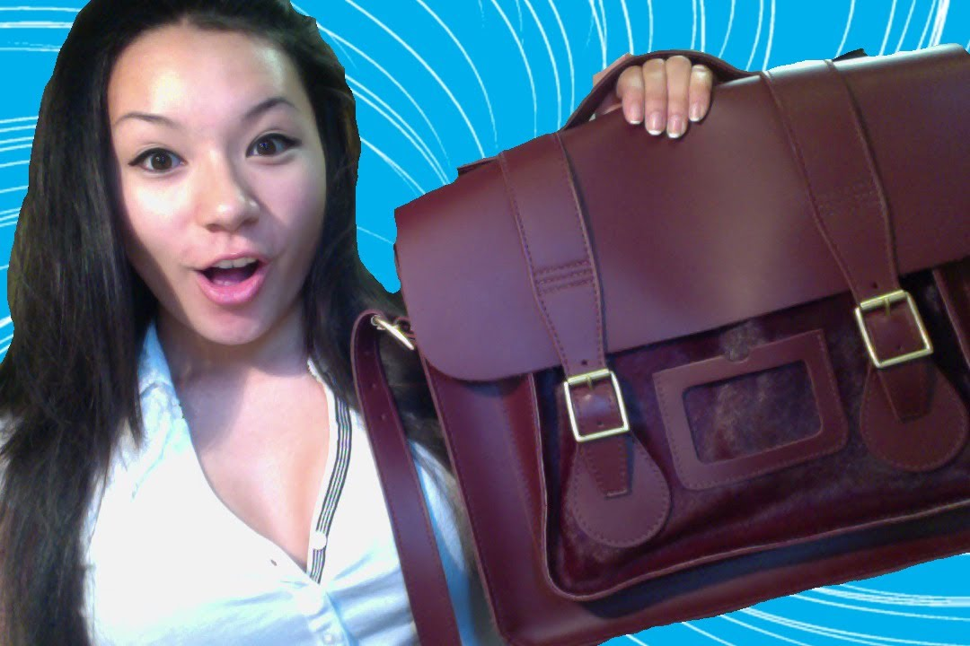 10cd5eb476 Dr Martens Satchel Review - YouTube