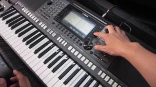 Hướng Dẫn Sử Dụng, Cài Tranh Rao , Dùng Bank Tiếng, Thu Âm Trên Song, intro,  Multi Pad Yamaha S770