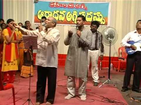 telugu christian songs worship song by Father S J Berchman   YouTube