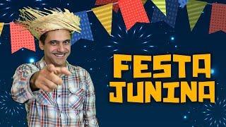 Festa Junina - Quadrilha, Comidas, Fogos