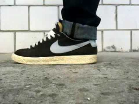nike air max de vendita - Shoes Nike Blazer low vntg on feet - YouTube