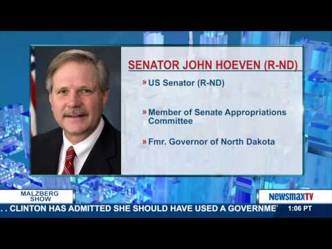 Malzberg | Senator John Hoeven discusses the reaction of people saying he