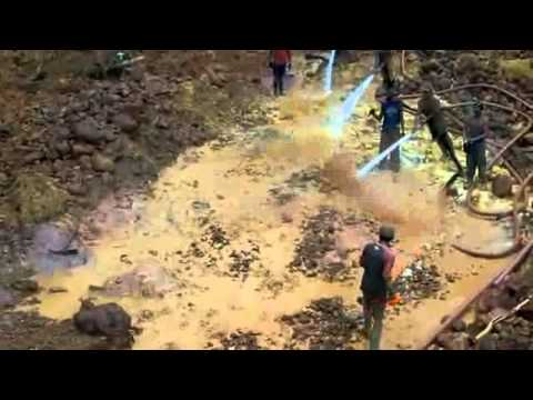 Guyana South America Gold Mining Operation   DREAM System LLC 360p