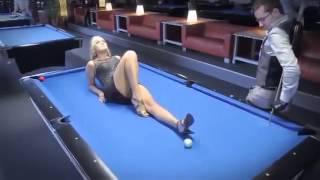 СЕКС НА БИЛЬЯРДНОМ СТОЛЕ!!!! SEX ON THE POOL TABLE!!!!