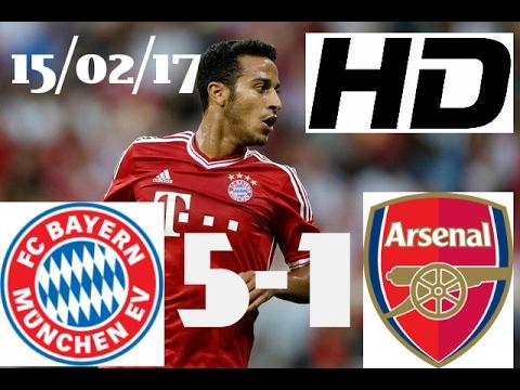 Download Bayern Munich vs Arsenal 5-1 All Goals & Highlights UCL 15|2|2017