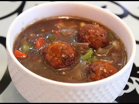 सिर्फ 5 मिनट में बनाये वेज मंचूरियन / Veg Manchurian Recipe / Chinese Recipes in Hindi / Kids recipe