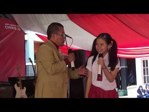 Hiburan Pada Pelepasan Siswa SMP Negeri 2 Ciamis Tahun Pelajaran 2018-2019