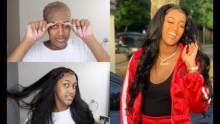 HOW TO| LAY LACE FRONTAL WIG FOR BEGINNERS !!!