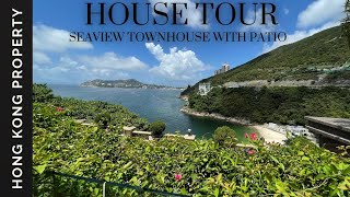 🇭🇰 HOUSE TOUR | SEAVIEW TOWNHOUSE WITH PATIO | Hong Kong