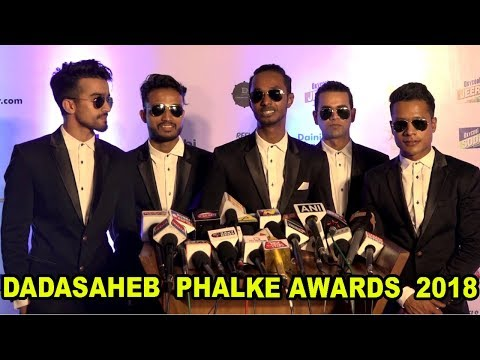Mj5 Team At Dadasaheb Phalke Excellence Award 2018