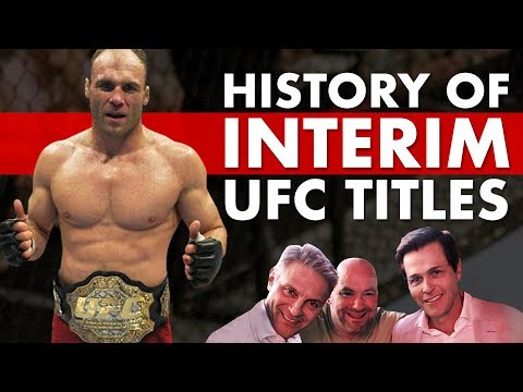 The Baffling History of UFC Interim Titles
