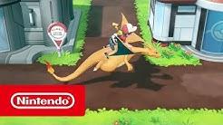 Pokémon: Let's Go, Pikachu! und Pokémon: Let's Go, Evoli! - Übersichtstrailer (Nintendo Switch)
