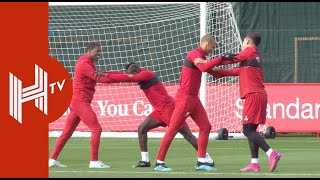 Liverpool Champions League Training | Matip and Alexander-Arnold Missing | Genk