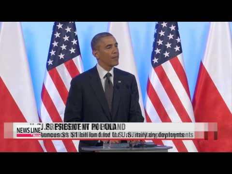 U.S. president vows to bolster security in eastern Europe
