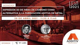 Impresión 3D de fibra de carbono como alternativa a la impresión de metal | ADDITIV Movilidad
