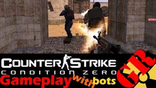 Counter-Strike: Condition Zero gameplay with Hard bots - Dust - Terrorist