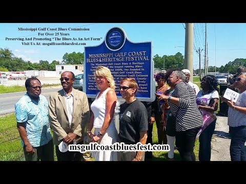 Newest Mississippi Blues Trail Marker unveiled in Pascagoula before blues festival Saturday