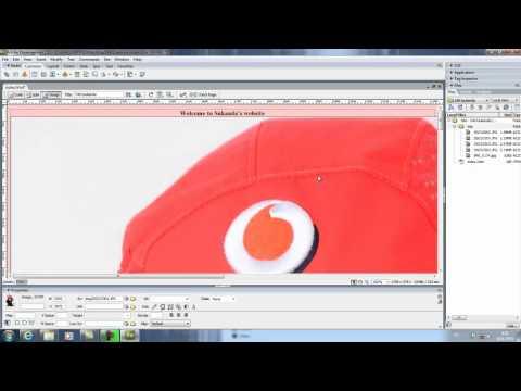 สอนทำเว็บ Dreamweaver CS3 บทที่ 1 เว็บเพจ 1หน้า
