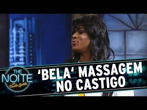 The Noite (31/08/15) - Castigo Mestre Mandou: Massagem Deliciosa