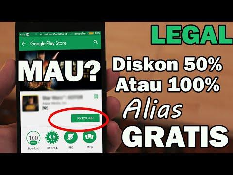 Cara AMAN Install Aplikasi/Game Di Play Store Berbayar Jadi Gratis, RESMI Ni Brow - YAKIN !!!