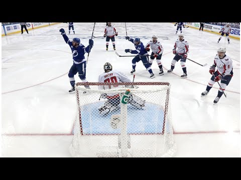 Tampa Bay Lightning strike early in Game 5 win against Washington Capitals