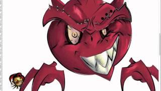 Evil Beast (Ball Beast) - Speed Painting in Photoshop Cs5