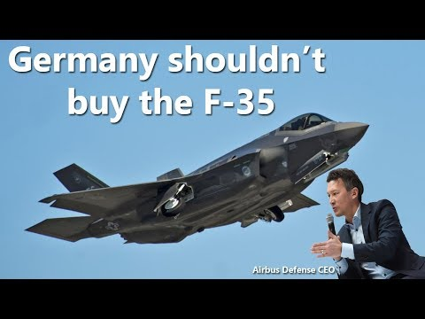 Germany shouldn't buy the F-35, Europe needs military independence – Airbus Defense CEO