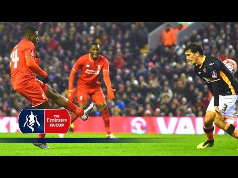 Liverpool 3-0 Exeter (Replay) Emirates FA Cup 2015/16 (R3) | Goals & Highlights