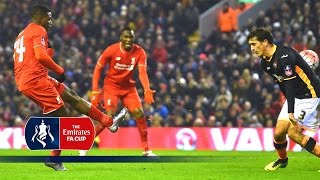 Liverpool 3-0 Exeter (Replay) Emirates FA Cup 2015/16 (R3)   Goals & Highlights