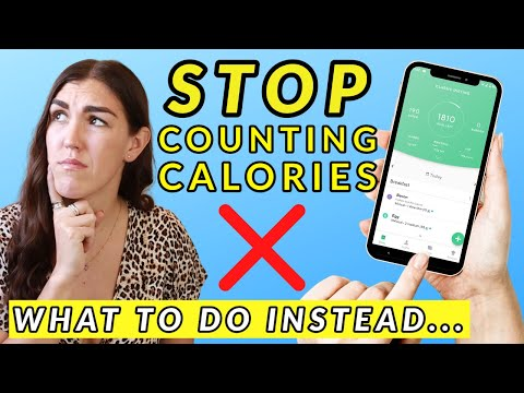 STOP Counting Calories for Weight Loss! (What You Can Do Instead)