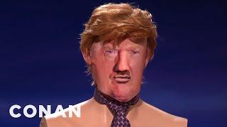 The Trump Debate-Bot & Casino 5001  - CONAN on TBS