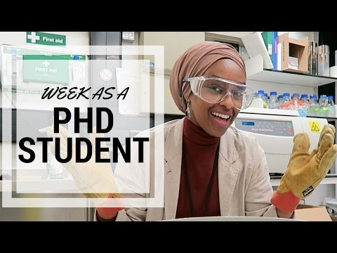 A Week As A PhD Student #1