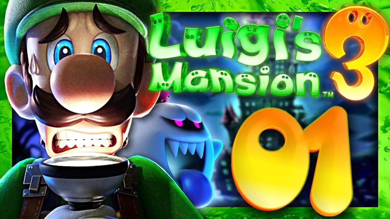 Luigi S Mansion 3 Episode 1 Co Op Nintendo Switch Premier Jour A L Hotel