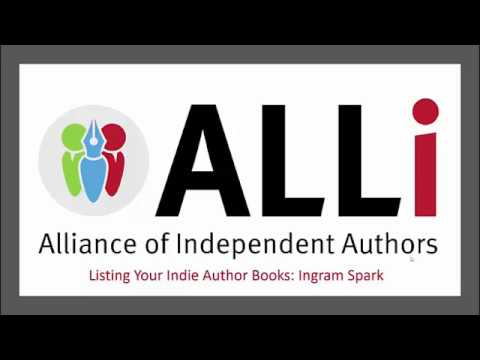 How to Distribute your self-published book through IngramSpark