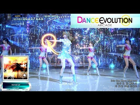 [ダンエボ] Mermaid Girl Playthrough / Dance Evolution AC / 댄스 에볼루션 아케이드