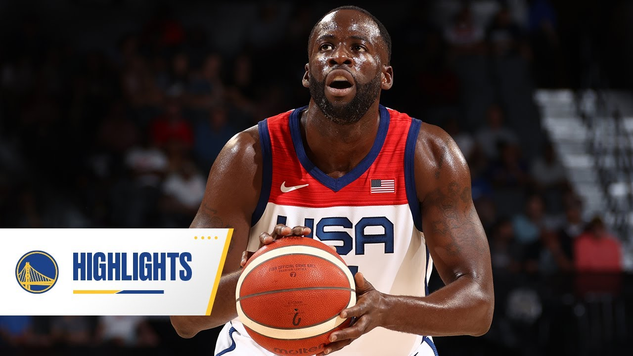 Draymond Green's Best Moments With USA Basketball   2021 Highlights
