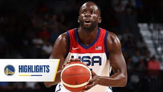Draymond Green's Best Moments With USA Basketball