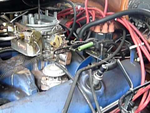 390 Ford Engine Diagram 74 Dodge Monaco Kickdown Linkage Youtube