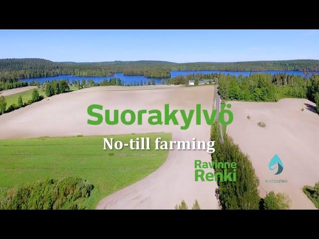 No Till Farming– Suorakylvö