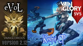 5v5 eVol | Kestrel CP - Vainglory hero gameplay from a pro player