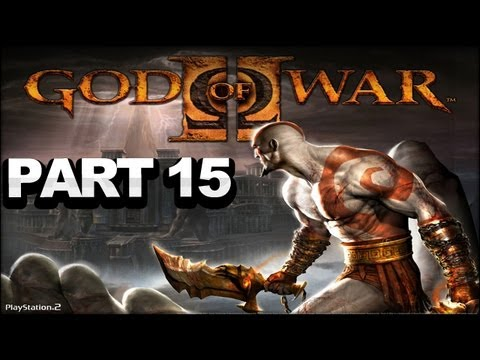 God of War 2 Walkthrough - Part 15 - Auditorium of Lahkesis