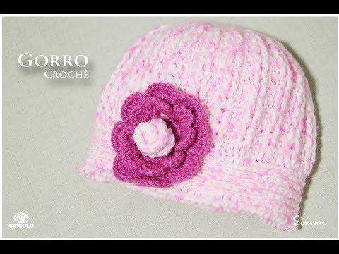 Gorro de Crochê Mais Bebê - Professora Simone - YouTube 73fd34c11e8