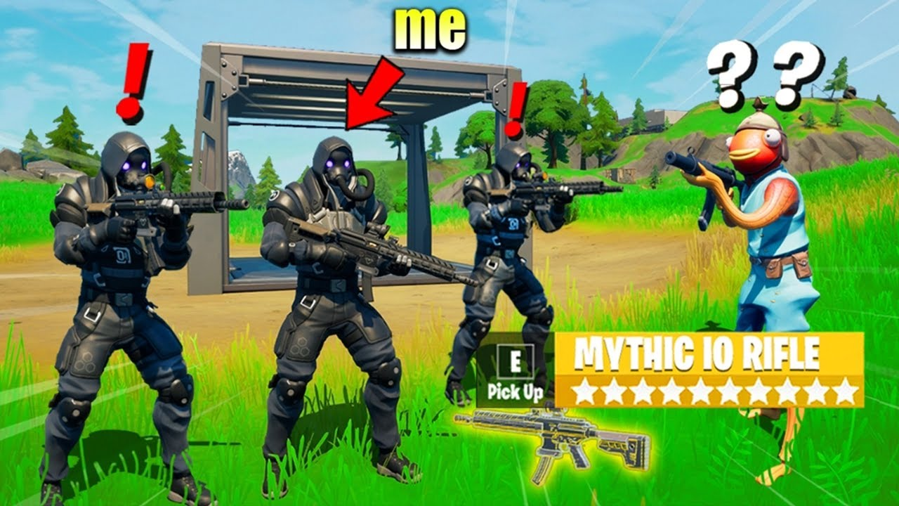 I Pretended to be IO GUARD in Fortnite (it worked)