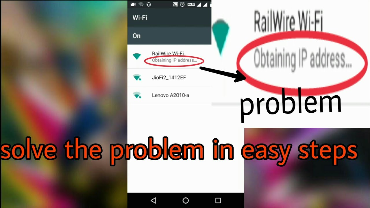 how to change ip address in android mobile