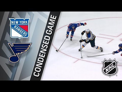 03/17/18 Condensed Game: Rangers @ Blues