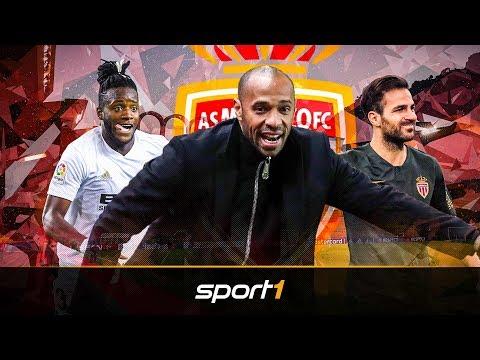 Fabregas, Batshuayi und Naldo: AS Monaco mit großen Namen gegen den Abstieg   SPORT1