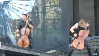 Heavy Montréal 2014 - Apocalyptica - Hall of the Mountain King live